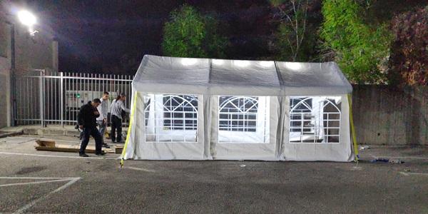 אוהל לאירועים למכירה בגודל 3 על 6