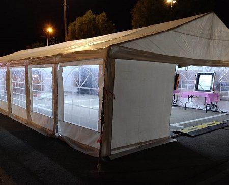 אוהל למכירה דגם 5 על 12