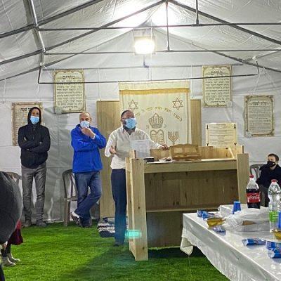 אוהל קירוי